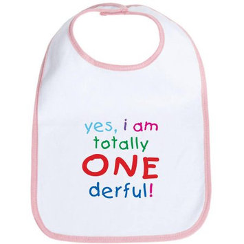 CafePress Newborn Onederful 1st Birthday First Bib