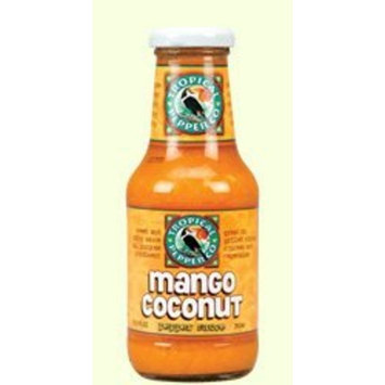 Tropical Pepper Company Mango Coconut Grilling Pepper Sauce - 10.5 oz