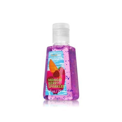 Bath Body Works Bath & Body Works Mango Berry Sparkler Anti Bacterial Hand Gel 1 Fl Oz Bottle