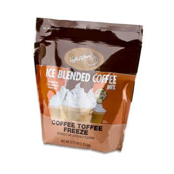 Caffe D'Amore Frappe Freeze Coffee Toffee Freeze Mix - 2.75 lb Bag