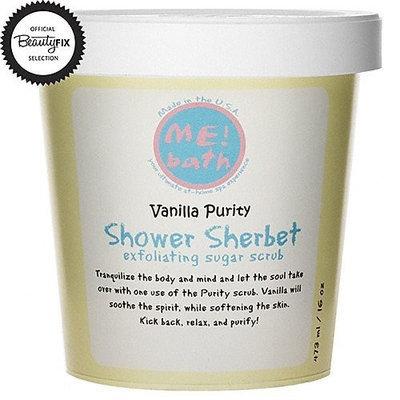 ME! Bath Shower Sherbet Sugar Scrub - Vanilla Purity - 16 oz