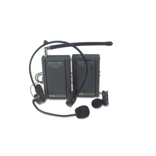 Amplivox AmpliVox S1600 AmpliVox Wireless Lapel and Headset Microphone Kit