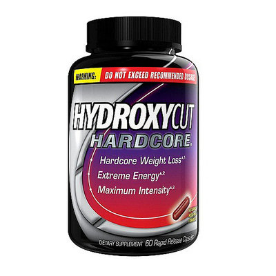 Hydroxycut Hardcore Rapid Release Capsules