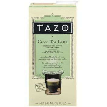 Tazo Green Tea Latte Matcha Tea Latte Concentrate