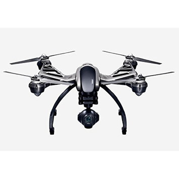 Yuneec Q500 4K Typhoon Quadcopter Drone RTF in Aluminum Case with CGO3 Camera, ST10+ & Steady Grip