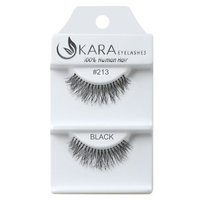 Kara Beauty Human Hair Eyelashes - 213 (Pack of 12)