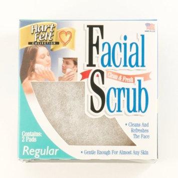Hartfelt Clean and Fresh Facial Scrub Regular, 12 -Count Box