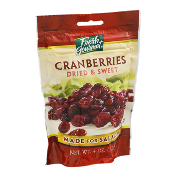 Fresh Gourmet Cranberries Dried & Sweet