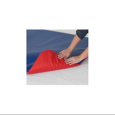 Children's Factory Play Zone Floor Mat in Red/Blue