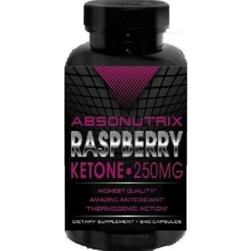 Absonutrix Raspberry Ketone 240 Capsules - 250mg Per Capsule