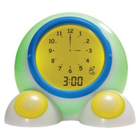 American Innovative, LLC Teach Me Time! Talking Bedside Alarm Clock and Night-Light