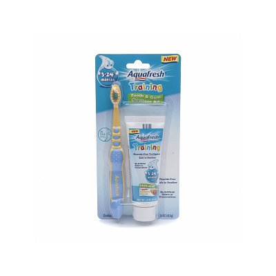Aquafresh Infant Toothpaste & Brush Training Pack