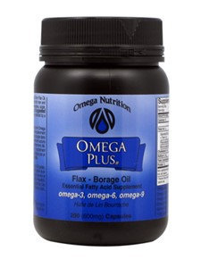 Omega Nutrition Omega Plus Flax Borage Oil 200 gels