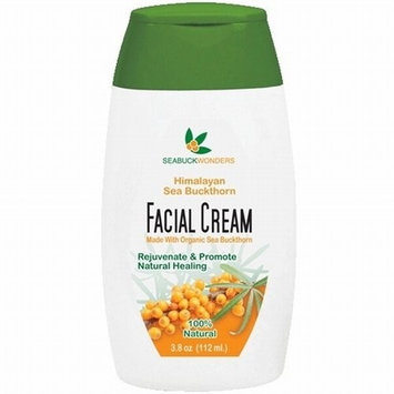 SeaBuckWonders Sea BuckWonder Himalayan Facial Cream -Made with Organic Sea Buckthorn, 3.6-Ounce