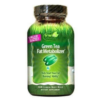 Irwin Naturals Green Tea Fat Metabolizer Dietary Supplement Liquid Softgels