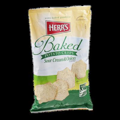 Herr's Baked Potato Crisps Sour Cream & Onion