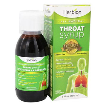 Herbion Throat Syrup 5 fl oz