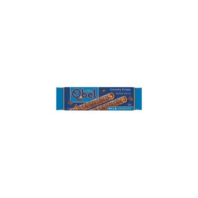Q.Bel Wafer Rolls, Milk Chocolate Crunch Crispy, 0.9-Ounce (Pack of 15)