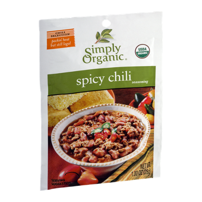 Simply Organic Spicy Chili Seasoning