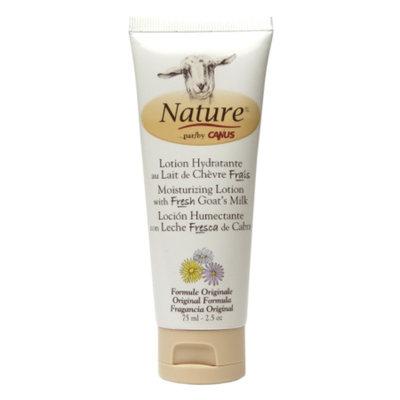Nature by Canus Moisturizing Lotion with Fresh Goat's Milk, Original Formula, 2.5 oz