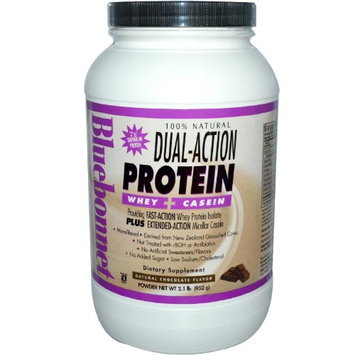 Bluebonnet Nutrition Dual-Action Protein - Natural Chocolate