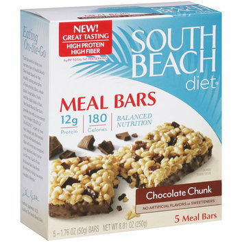 South Beach Diet Chocolate Chunk Meal Bars