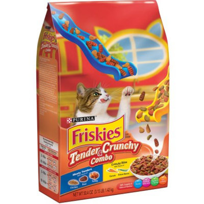 Friskies® Tender and Crunchy Combo Cat Food