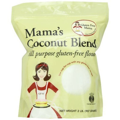 Gluten Free Mama, Mama's Coconut Blend All Purpose Gluten-Free Flour, 2 Pound Pouch (Pack of 2)