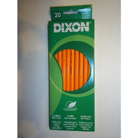 20 Dixon Pencils - No. 2 / HB Real Wood - Latex Free Eraser - Certified Non-toxic New in Box