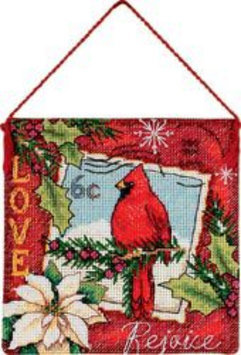 Dimensions Gold Collection Love Ornament Counted Cross Stitch Kit-4-1/2