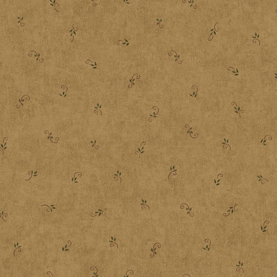 York Wallcoverings, Inc. York Wallcoverings Hearts & Crafts III Leaf and Scroll Spot Wallpaper