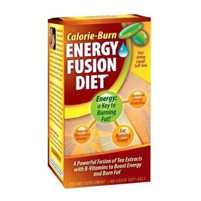 Rapid Nutrition Calorie-Burn Energy Fusion Diet, 60-Count Bottle