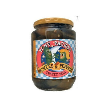 Tony Packo's Sweet Mix Pickles and Peppers