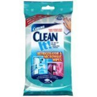 Carbona Clean It! Refrigerator & Microwave Wipes-20 ct