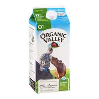 Organic Valley Milk 0% Fat Free