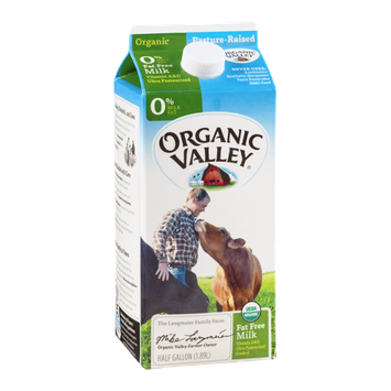 Organic Valley Milk 0% Fat Free