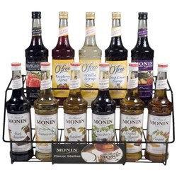 Monin Inc. Drink Syrups Monin NOFLAV Bottle Rack, NOCAP