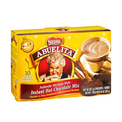 Nestlé Abuelita Authentic Mexican Style Instant Hot Chocolate Mix Envelopes - 10 CT
