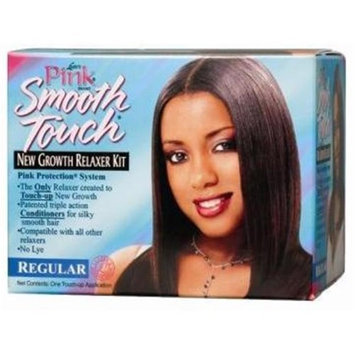 DDI Lusters Pink Regular Smooth Touch New Growth No-Lye Relaxer System Regular- Case of 12