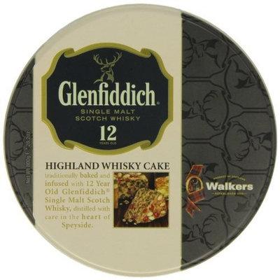Walkers Shortbread Glenfiddich Highland Whisky Cake, 28.2-Ounce Tin