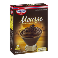 Dr. Oetker Instant Mousse Mix Double Chocolate