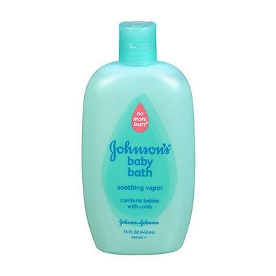 Johnson's® Soothing Vapor Bath