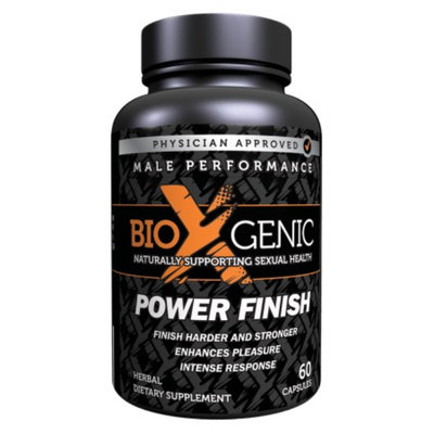 BioXgenic Power Finish Male Performance, Capsules