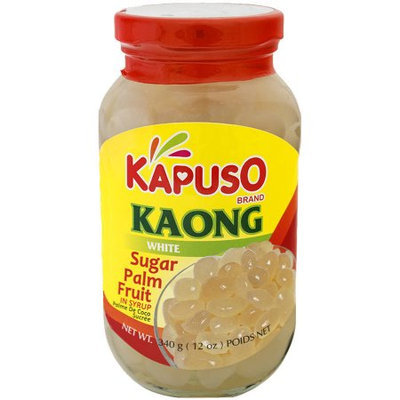 Nature Valley Kapuso Kaong White Sugar Palm Fruit in Syrup, 12 oz