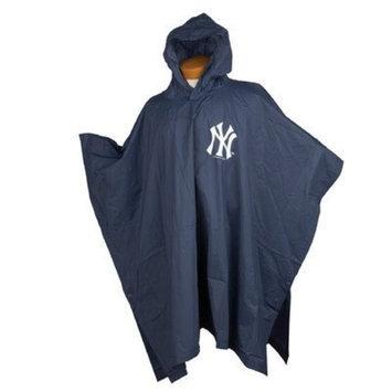Coopersburg Sports MLB Medium Weight Reusable Poncho MLB Team: New York Yankees