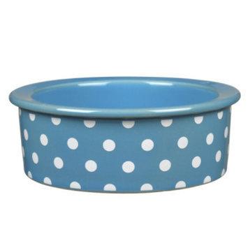 Grreat ChoiceA Polka Dot Cat Bowl