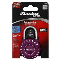 Master Lock Precision Dial Combination Padlock - Purple