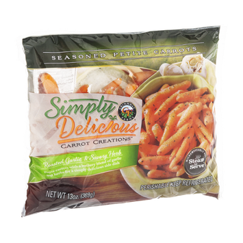 Simply Delicious Carrot Creations Roasted Garlic & Savory Herb