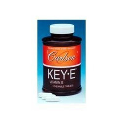 Carlson Labs Key-E Natural Vitamin E, 400 IU, 250 Capsules
