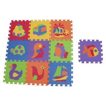 Edushape Tile Mat Puzzles 10pc